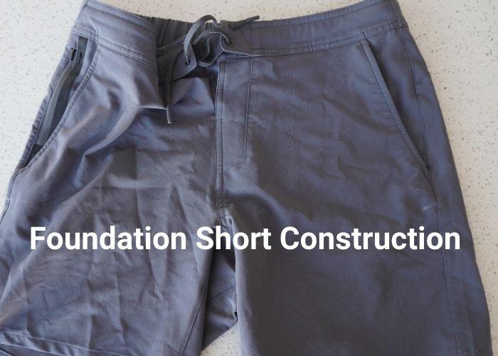 Foundation Short construction