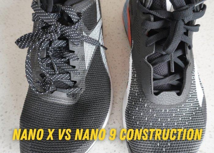 nano X vs Nano 9 construction part 2