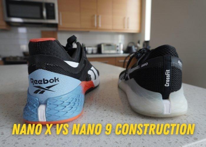 nano X vs Nano 9 construction