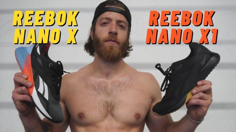 reebok nano x vs reebok nano x1
