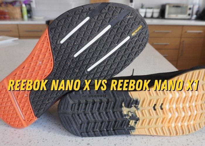reebok nano x vs reebok nano x1 performance