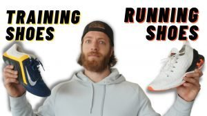 running shoes vs training shoes