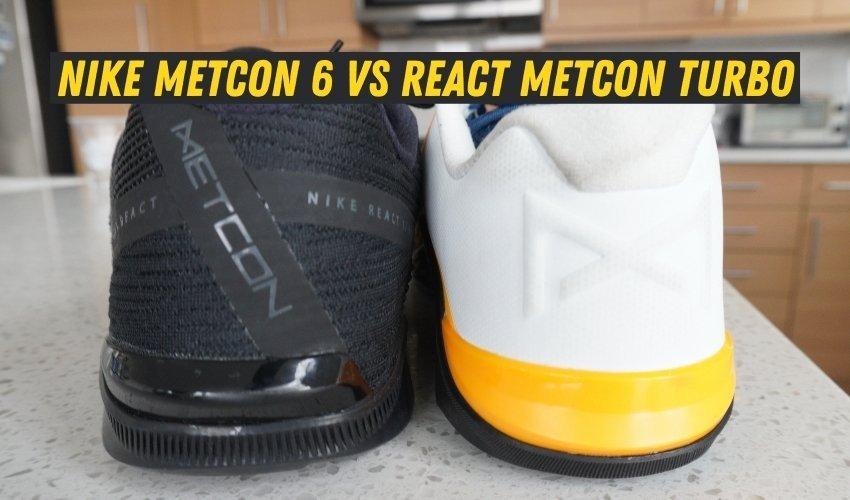 Nike Metcon 6 Vs React Metcon Turbo lifting