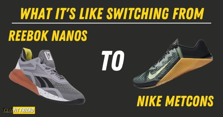 Reebok Nano to Nike Metcon