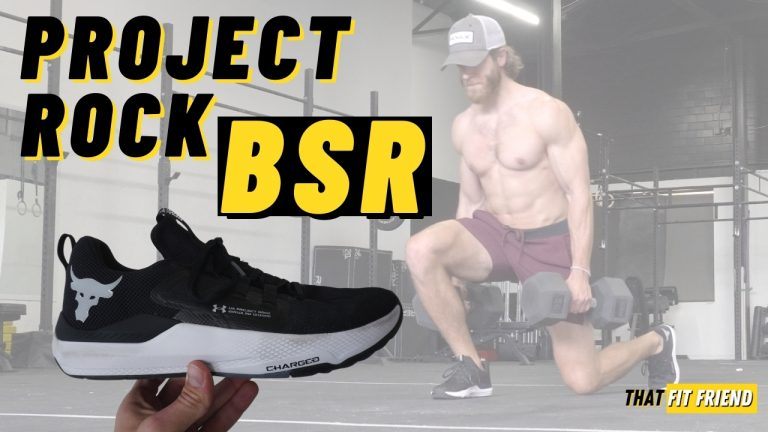 UA Project Rock BSR Training Shoes Review