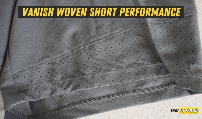 UA Vanish Woven Shorts Performance