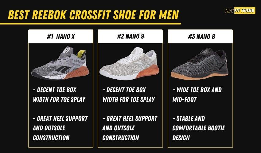 best reebok crossfit shoes for men
