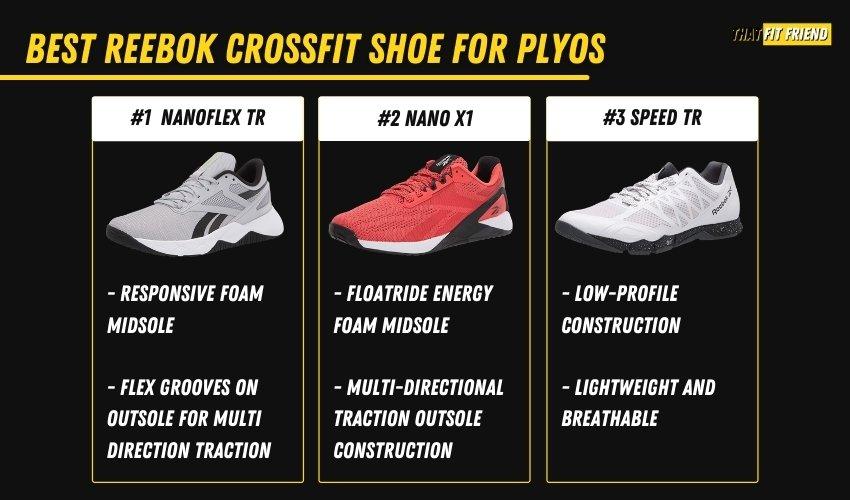best reebok crossfit shoes for plyometrics