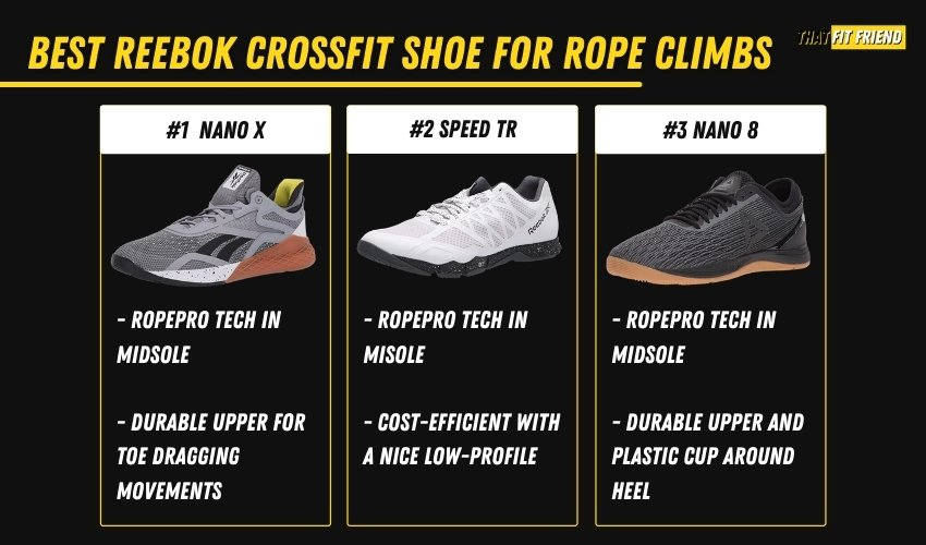 best reebok crossfit shoes for rope climbs