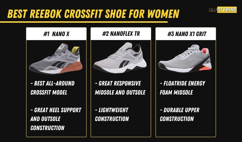 best reebok crossfit shoes for women