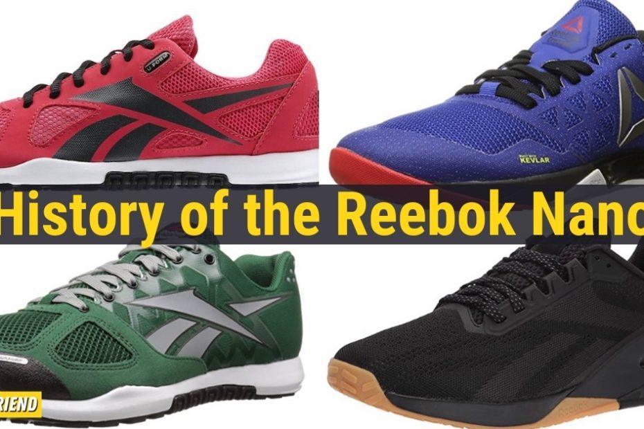 history of the Reebok Nano