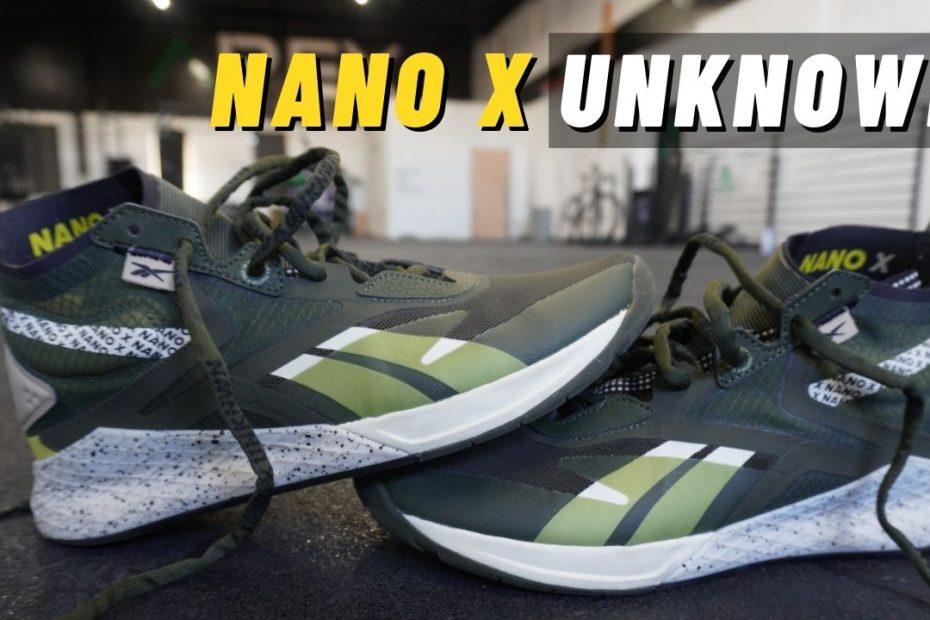 reebok nano x unknown review