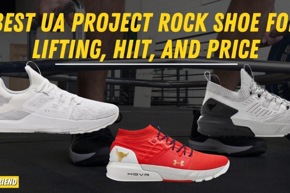 Best UA Project Rock Shoes