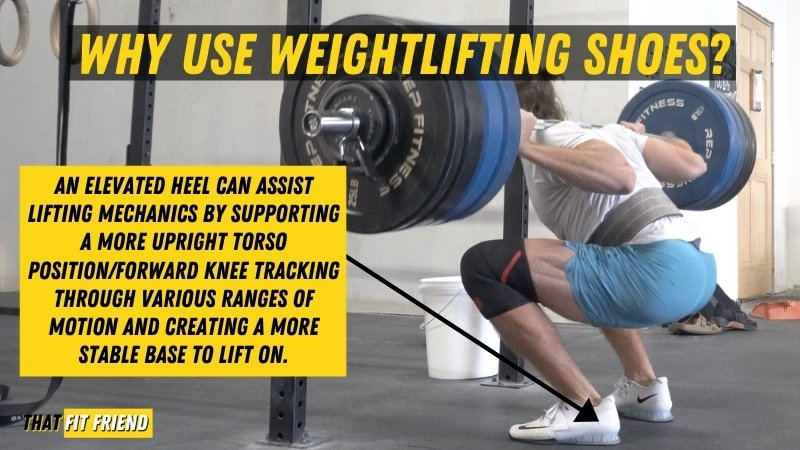 Why use weightlifting shoes (1)