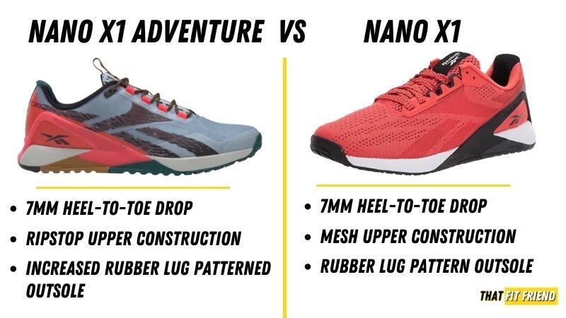 Nano X1 Adventure Vs Nano X1