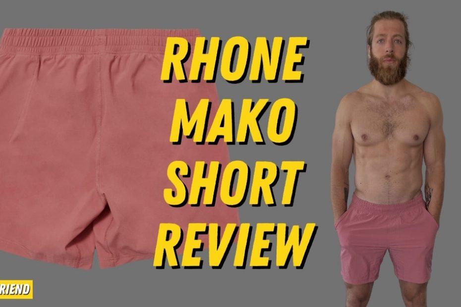 Rhone Mako Short Detailed Review