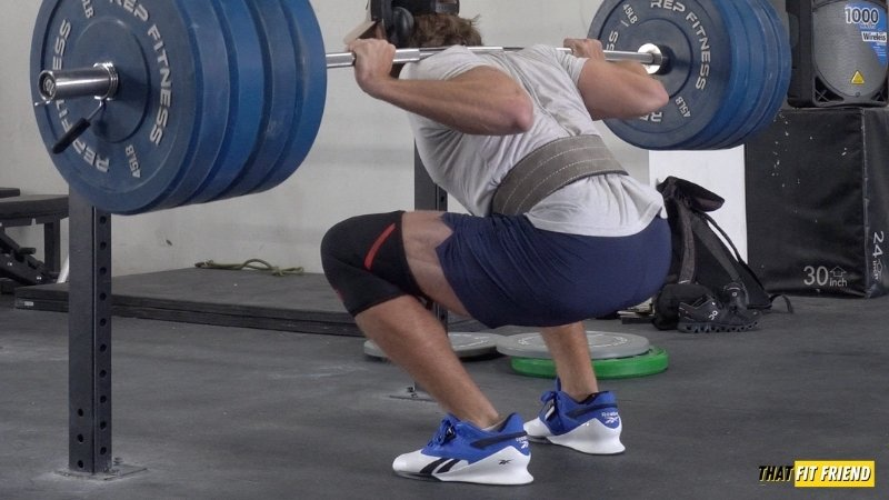 Who should wear weightlifting shoes
