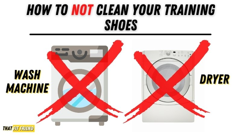 How to NOT clean training shoes