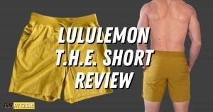 Lululemon T.H.E. Short Detailed Review