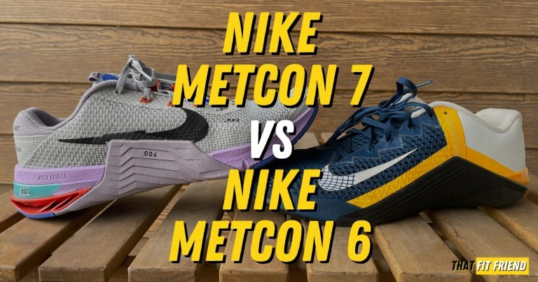 Nike Metcon 6 Vs Nike Metcon 7 Training Shoes