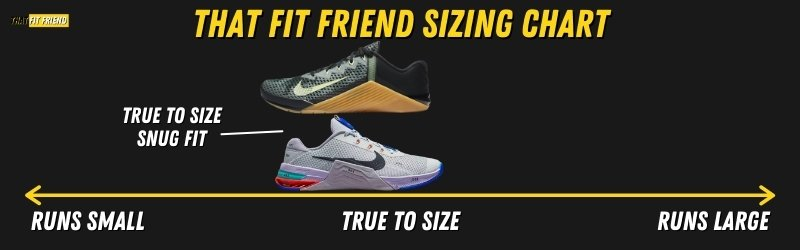 Nike Metcon 7 Vs Nike Metcon 6 Sizing