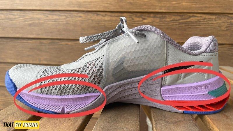 Nike Metcon 7 vs Nike Metcon 6 Midsole