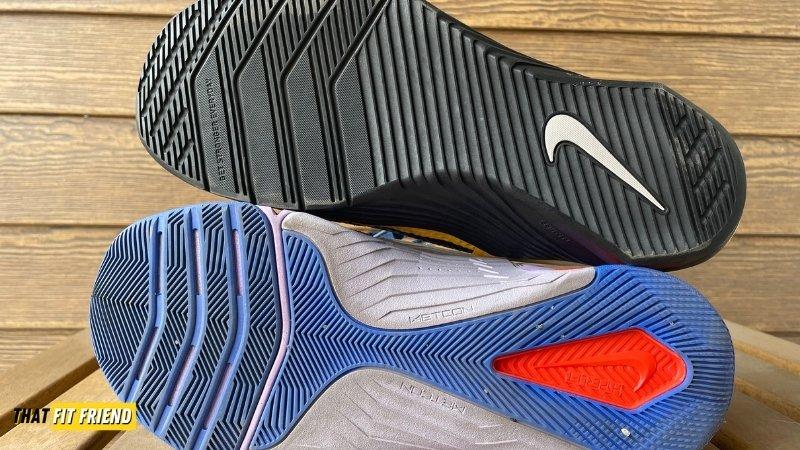 Nike Metcon 7 vs Nike Metcon 6 Outsole