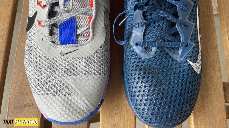 Nike Metcon 7 vs Nike Metcon 6 Upper Construction