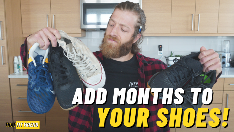 tip to make training shoes last longer