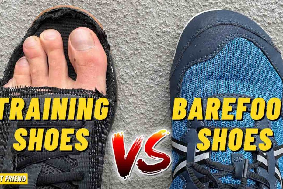 Training Shoes Vs Barefoot Shoes