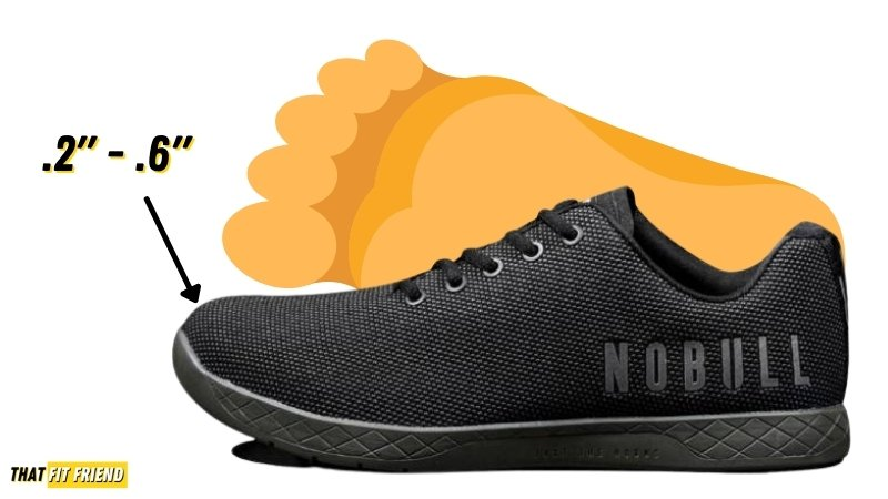 how should cross training shoes fit (1)