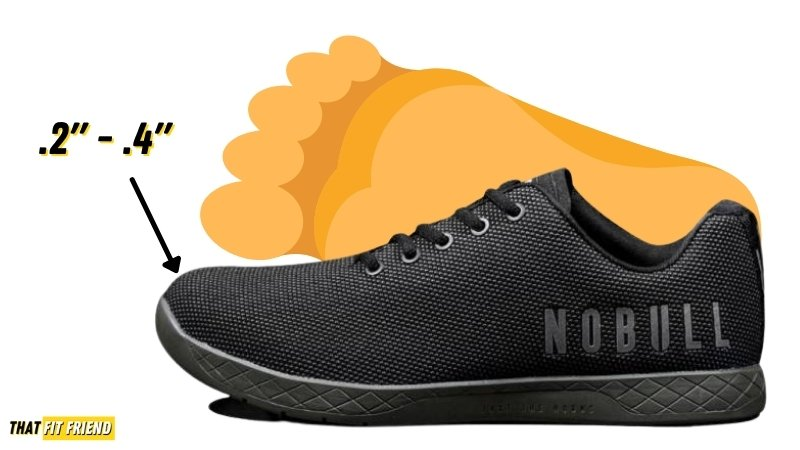 how should cross training shoes fit