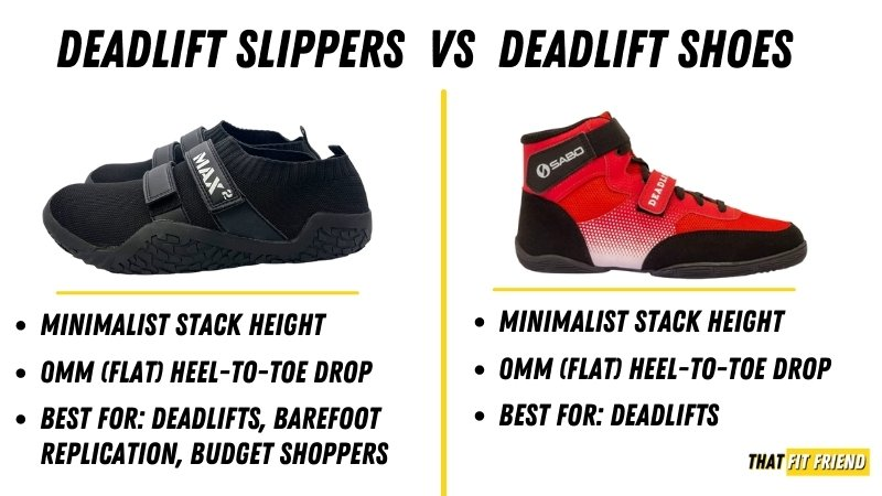 deadlift slippers vs deadlift shoes which is best for your goals