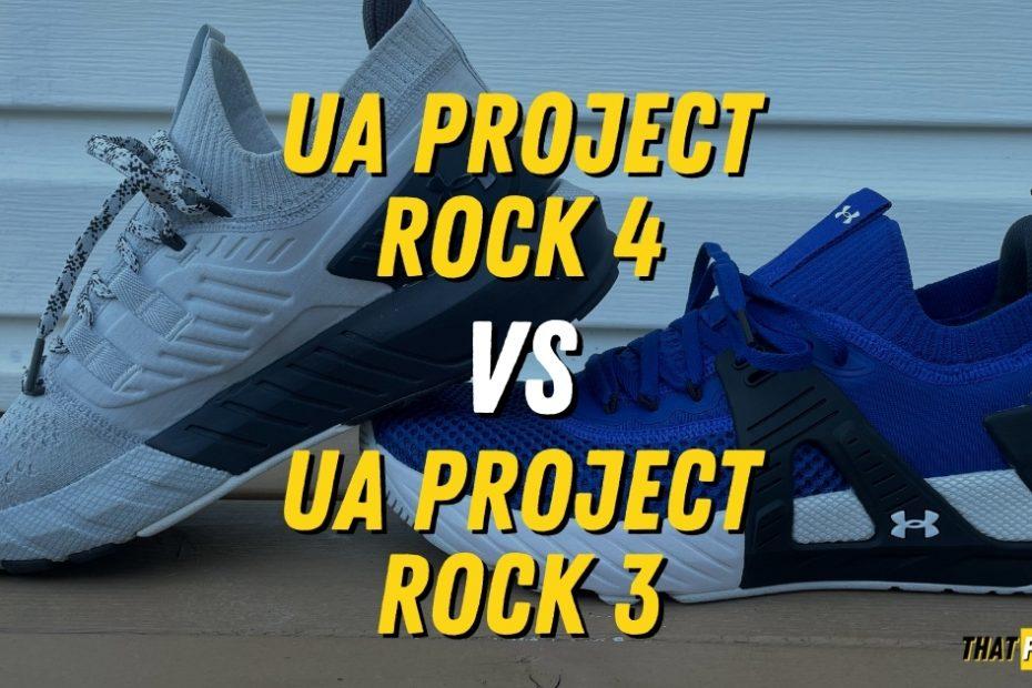 ua project rock 3 versus ua project rock 4