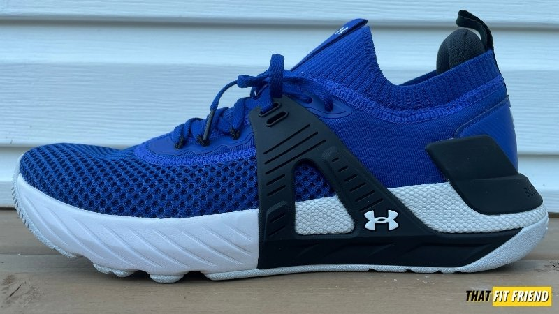ua project rock 4 midsole and outsole