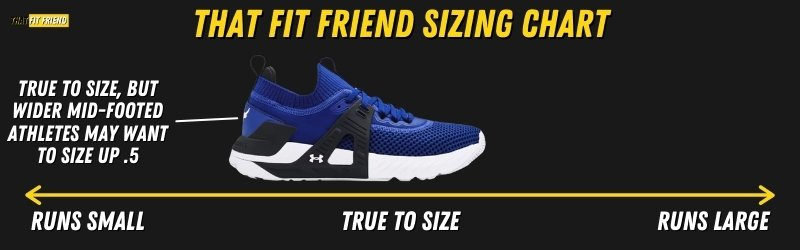 under armour project rock 4 Sizing