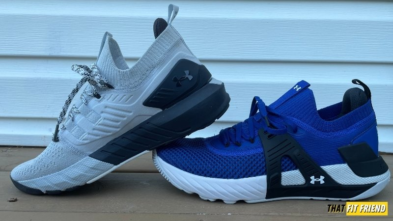 under armour project rock 4 vs project rock 3 for lifting