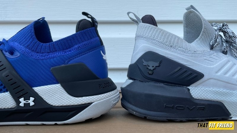 under armour project rock 4 vs project rock 3 for running