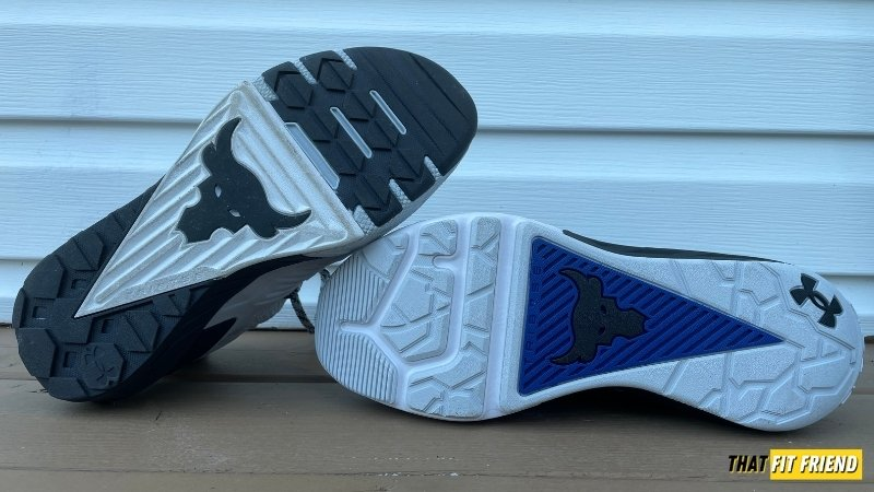 under armour project rock 4 vs project rock 3 outsole