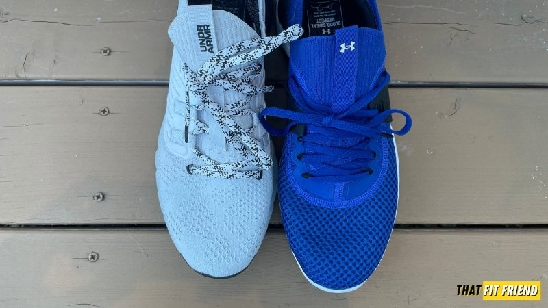 under armour project rock 4 vs project rock 3 size