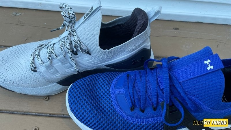 under armour project rock 4 vs project rock 3 upper