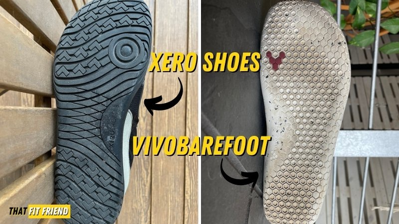 xero shoes vs vivobarefoot outsole
