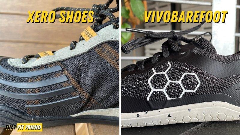 xero shoes vs vivobarefoot upper