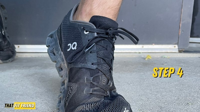 how to heel lock running shoes and training shoes